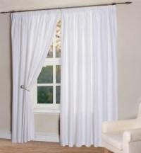 White Curtains Living Room | Home Design Ideas