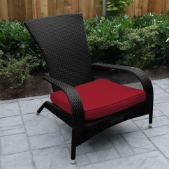 Lowes Outdoor Chair Cushions Computer For Tall Person Wicker Home Design Ideas