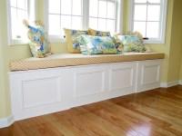 Bay Window Seat Cushion Ideas