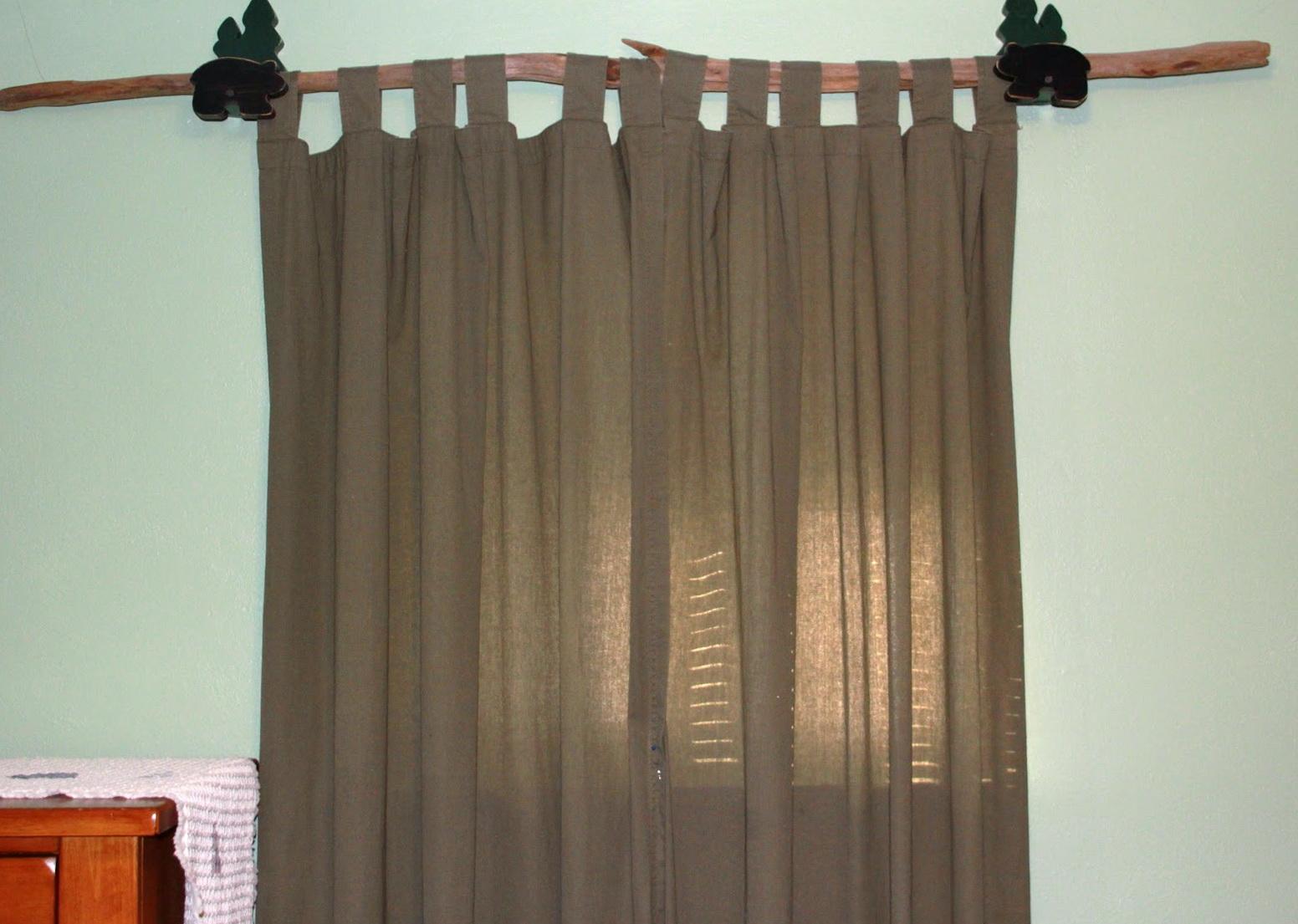 Industrial Curtain Rod Ideas  Home Design Ideas
