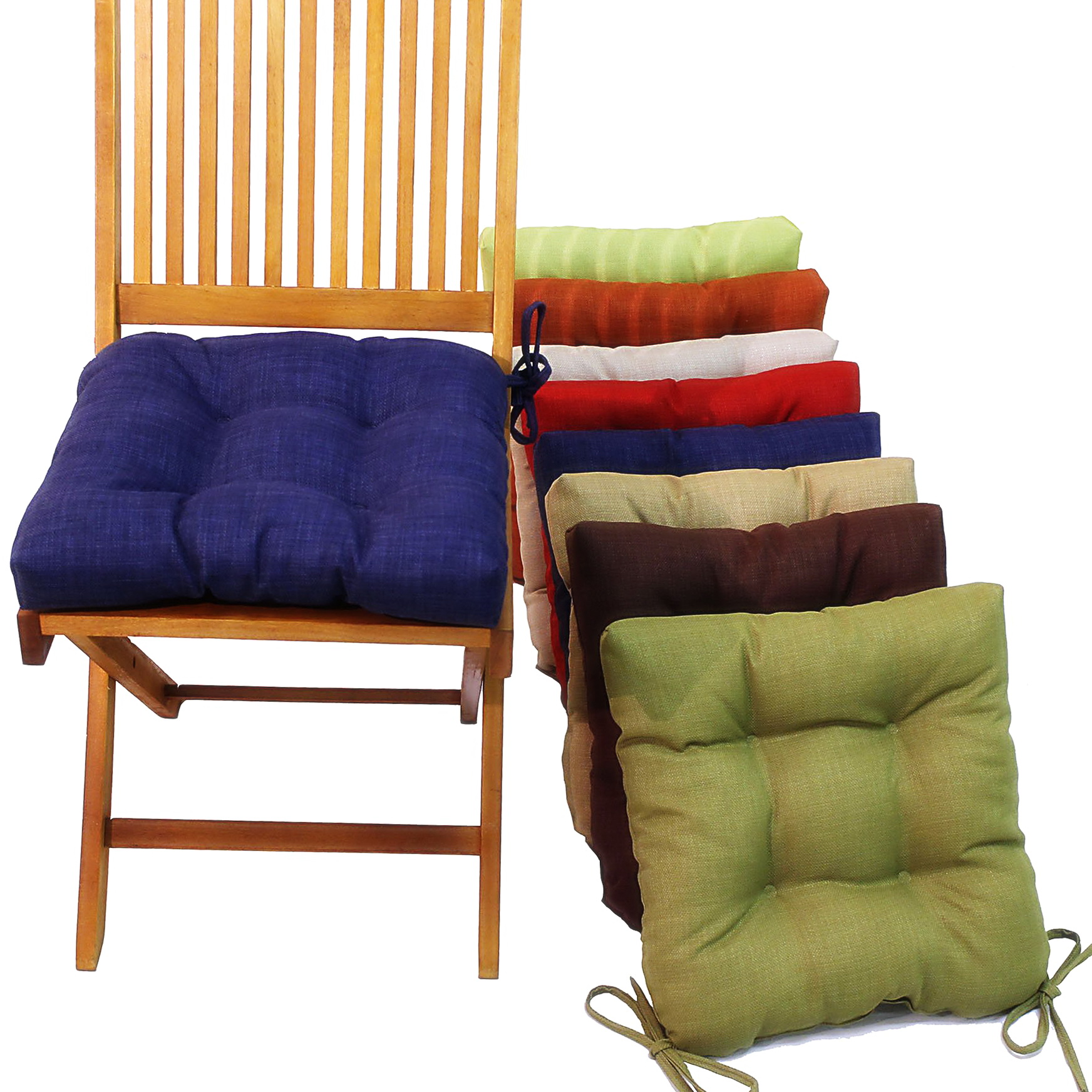 chair cushions tie on posture office manufacturer kitchen seat with ties home design ideas
