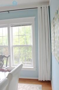 Long Curtains On Short Window | Home Design Ideas