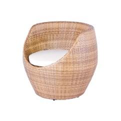 Circular Bamboo Chair Cushion Hudson Swoop Round Wicker Home Design Ideas