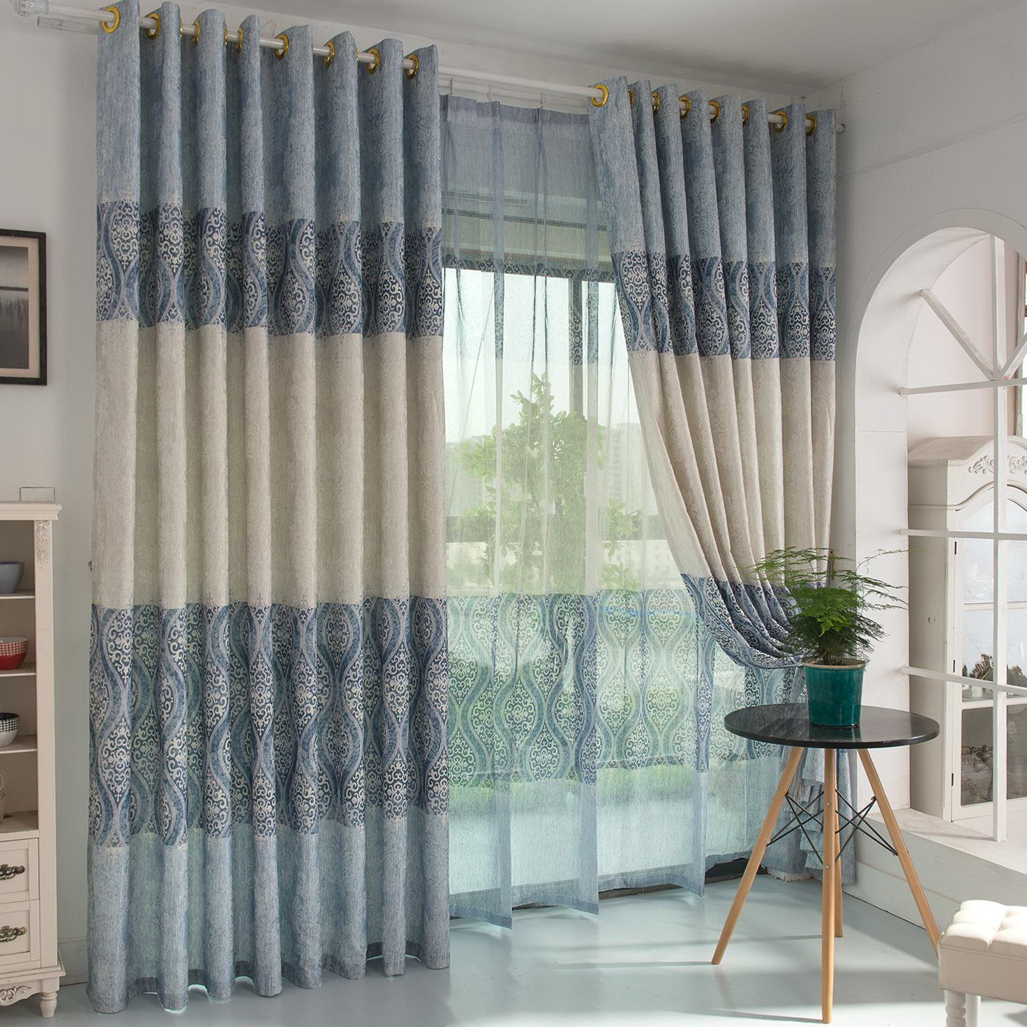 Style Selections Curtains Lowes  Home Design Ideas