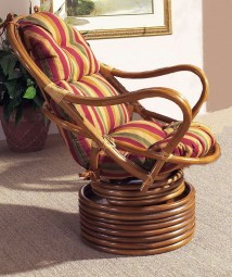 Swivel Rocker Cushion Rattan Home Design Ideas