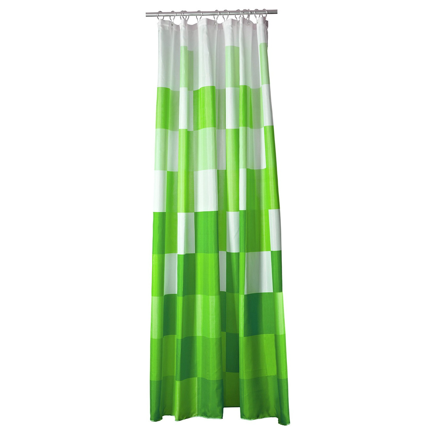 Bright Green Curtains In Ikea Catalogue 2010
