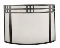 Fireplace Screen Curtain Mesh | Home Design Ideas