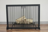 Fireplace Screen Curtain Mesh | Home Design Ideas
