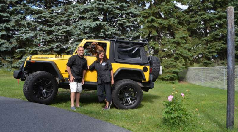 2008 Jeep Jk Soprt with Lavery Family
