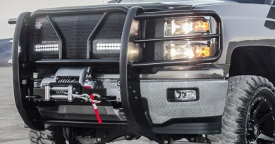 HDX B-Force LED on vehicle