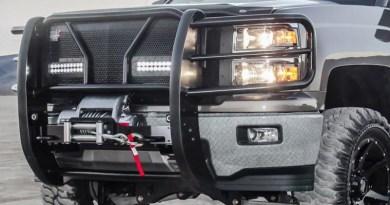 HDX B-Force LED on vehicle