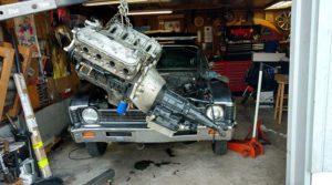 Potucek Motor Install