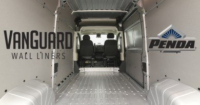 VanGuard Wall Liner Kits For Ford Transit
