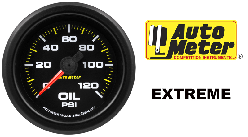 Auto Meter Extreme Environment Waterproof Gauges