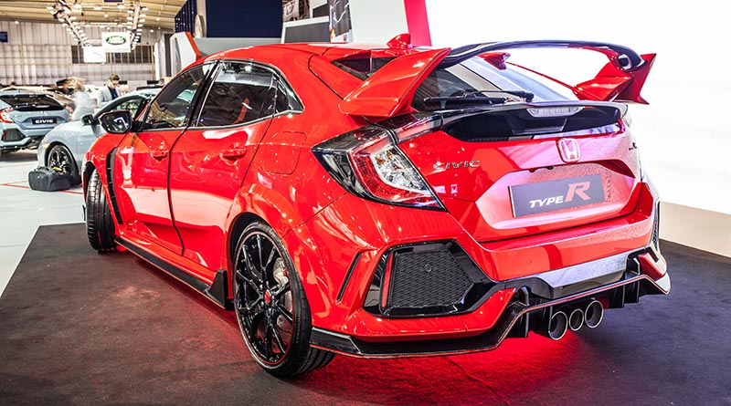 Honda Civic Type R And Si