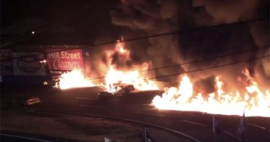 Auto Industry News - Fiery Wreck