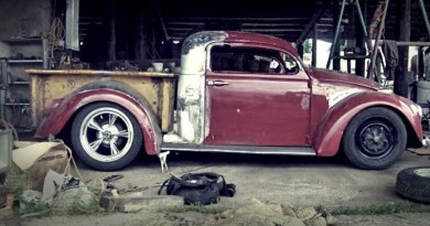 Beetle and Ford Truck Mashup