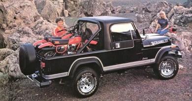 Classic Jeep Scrambler