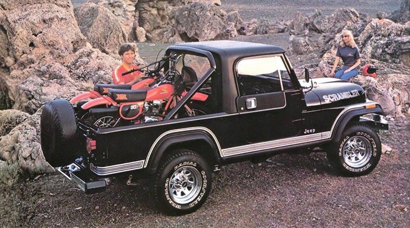 quirky jeep scrambler influences modern-day jeep jt