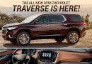 "Vehicle Spotlight: 2018 Chevy Traverse Puts the ""P"" in Practical"