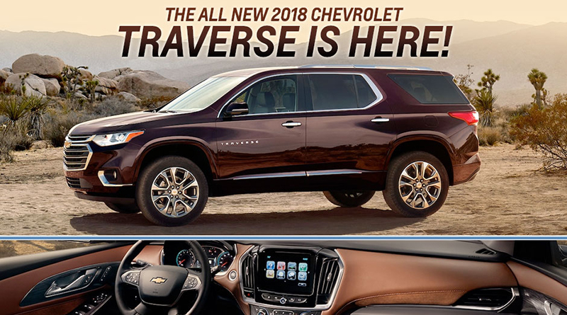 """Vehicle Spotlight: 2018 Chevy Traverse Puts the """"P"""" in Practical"""