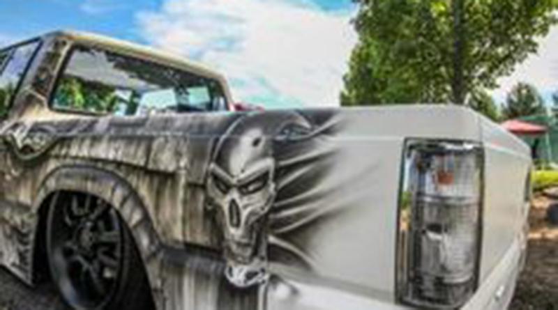 Custom paint jobs are a hallmark of mini trucks.