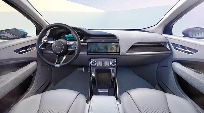 Jaguar I-Pace, a whole new experience behind the wheel.
