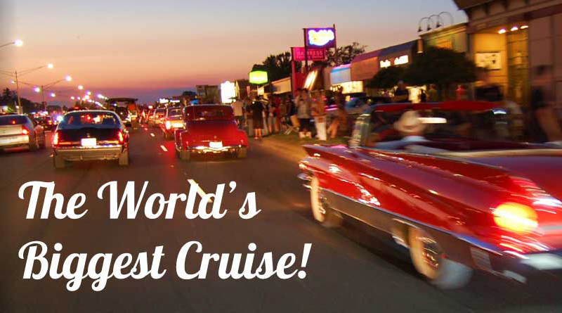 Did you make arrangements yet to attend the Woodward Dream Cruise?