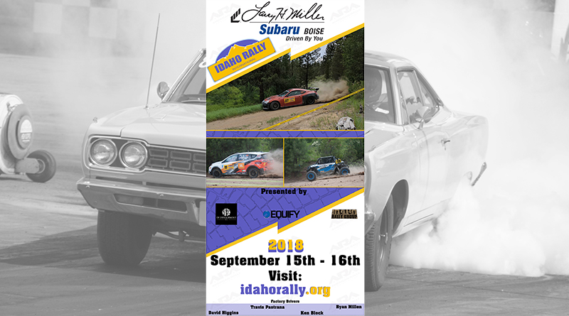 Action-packed rally races - next up, Idaho!