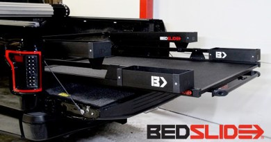 Blacked Out BEDSLIDE – Black Edition Bed Slides Now Available