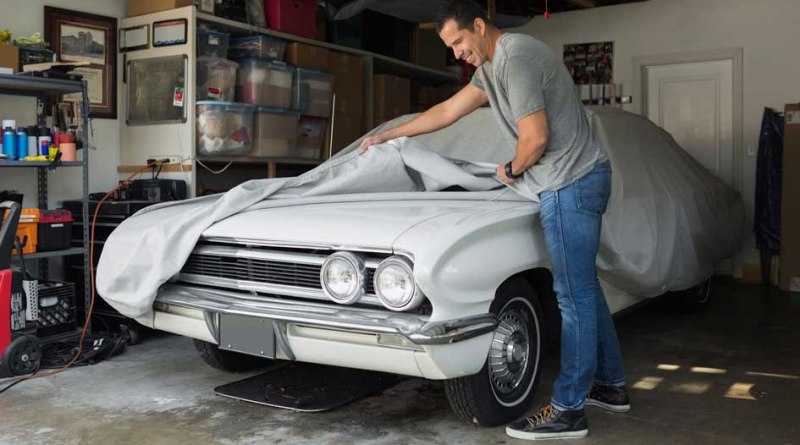 Photo Cred: State Farm, getting your car ready for storage.