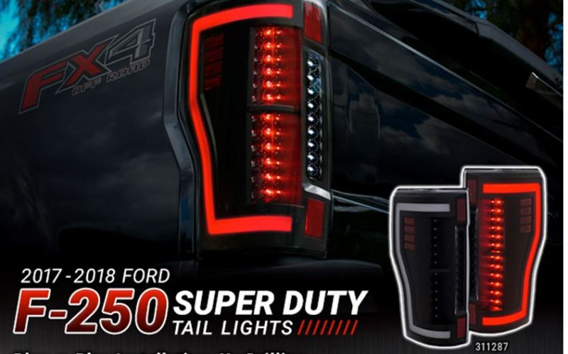 To complement its innovative projector headlights, Anzo has doubled down with the release of equally eye-catching taillights for the latest F-250 Super Duty truck.
