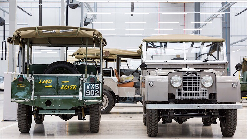Land Rover North America rings in 70.