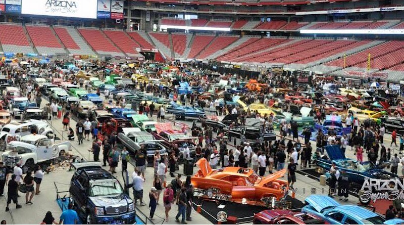 """Boasting an array of new vehicles and concepts, the Arizona International Auto Show is no slouch on the circuit of """"What's happening, what's hot, and where are things heading?"""""""