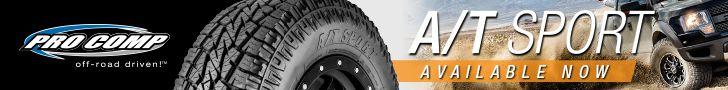 Pro Comp Tire A/T Sport