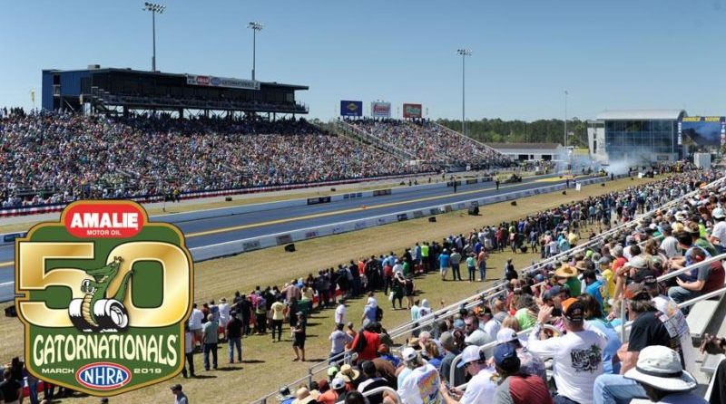 Looking for some spring auto events? Check out the 50th NHRA Gatornationals March 14 – 17.