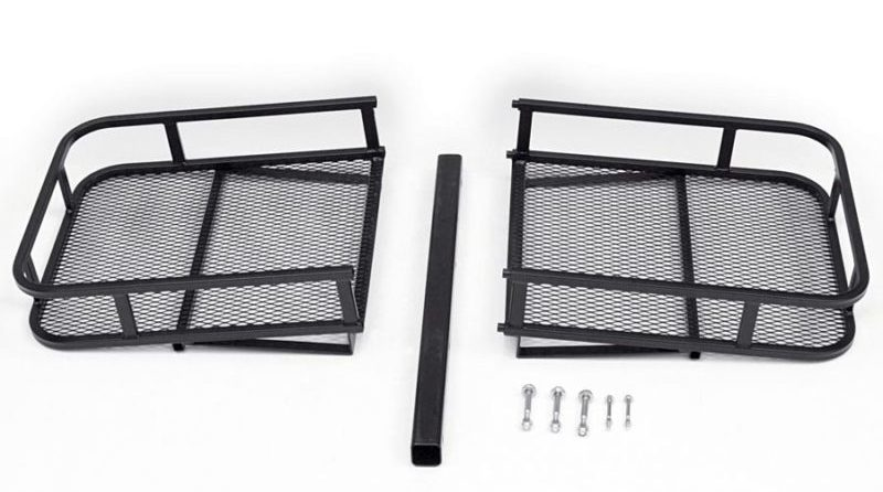 The Surco Hauler Basket Rack makes it easy to haul that extra load with your hitch.