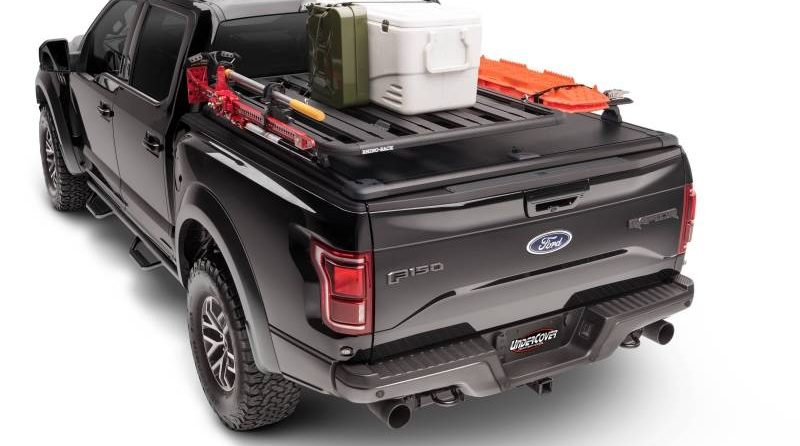 For those looking to ditch the campground and get further off the grid, the Ridgelander Overland Accessory Kit maximizes cargo storage capabilities.