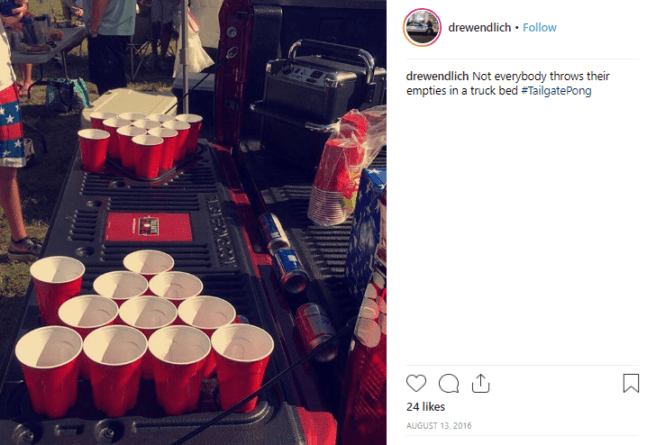Take your PendaForm Tailgate Pong to the next big event for instant fun.