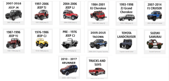 Warrior Products has a robust lineup of off-road accessories for all YMM.