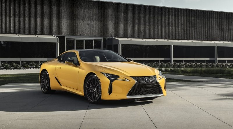 The 2019 LC 500 Inspiration Edition will make its first public appearance at the 2019 Chicago Auto Show.