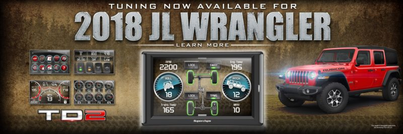 Looking for hot new performance products for the Jeep Wrangler JL? Check out Superchips TrailDash2.