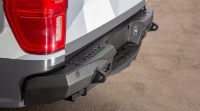 New products from Addictive Desert Designs include these wicked rear bumpers for the 2019 Ford Ranger.