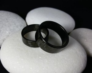 Next on our list of 12 Valentine's Day gifts for car lovers are these handmade carbon-fiber ring bands.