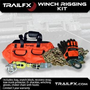 TrailFX recovery gear ensures the wheeling stays fun, even if you get stuck.