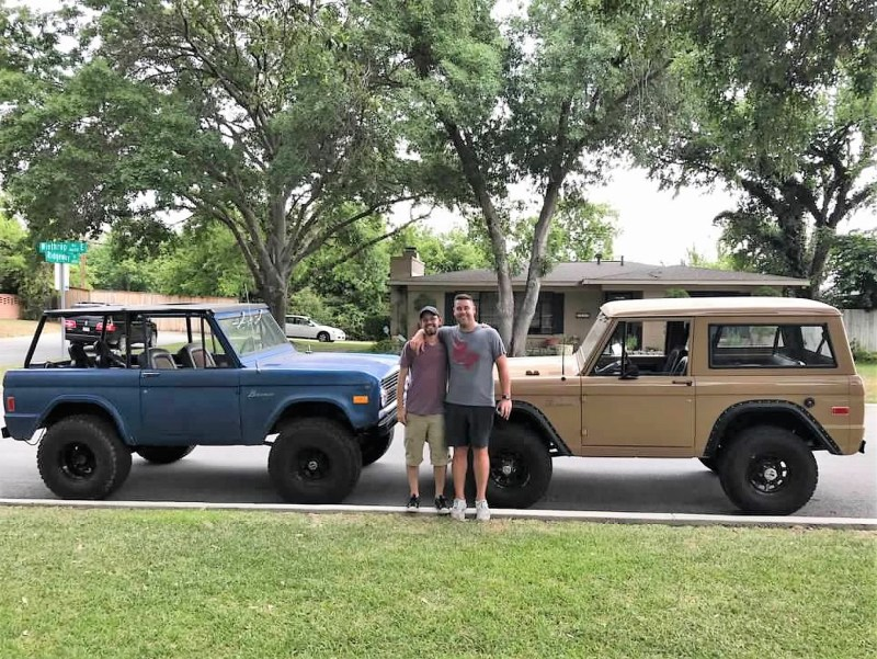"""As far as friends are concerned, """"They were instrumental in helping me learn and make progress on the Bronco,"""" adds Duwe. Plus, he says, """"The Whataburger payouts didn't hurt."""""""