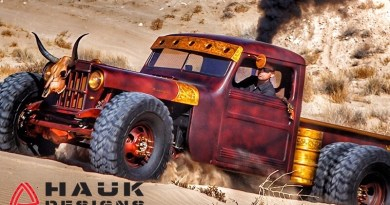 Hauk Designs pushes the limits of rat rod.