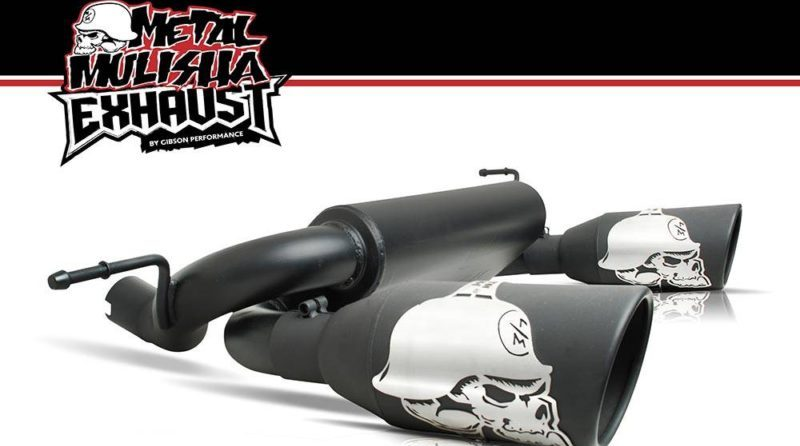 Gibson Performance Exhaust sponsors Brian Deegan and the Metal Mulisha brand.