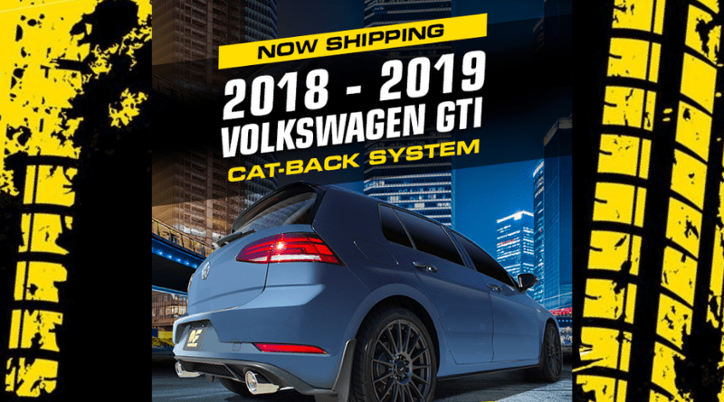 This all new MagnaFlow cat-back exhaust system for the 2018-2019 Volkswagen GTI signals some exciting things for enthusiasts of the sport compact scene.