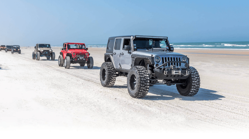 Daytona Jeep Week is a great way to celebrate off-road season.